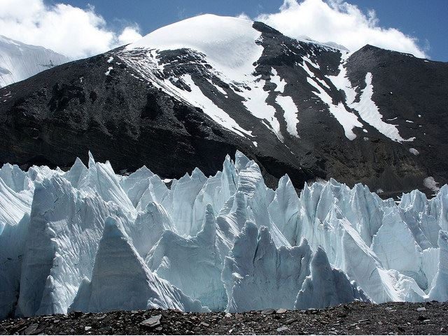 East Rongbuk glacier