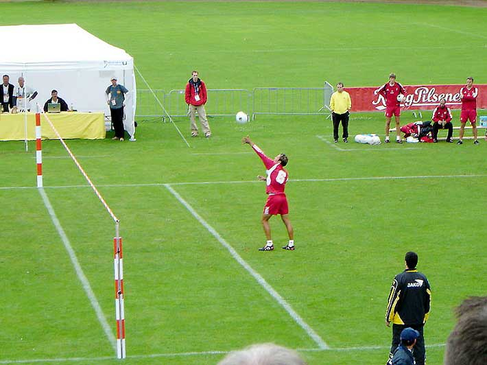 Fistball-game