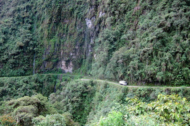 North-Yungas-Road