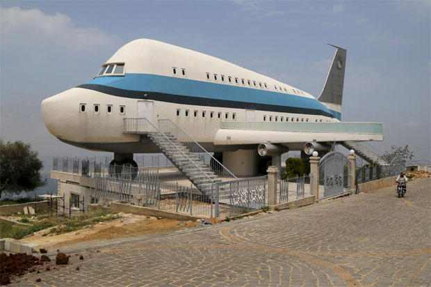 Airplane-House