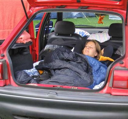 Need to Live in Your Car?