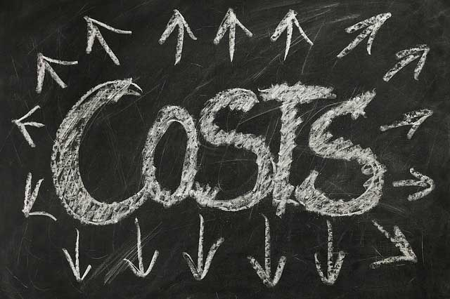 costs for starting a business